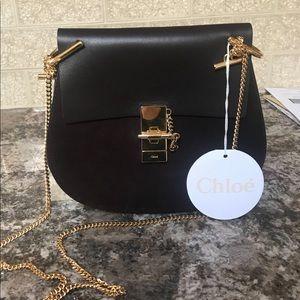 Chloe bag carbon brown